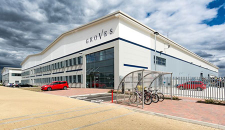 Groves and Banks - HQ and warehouse, Thame