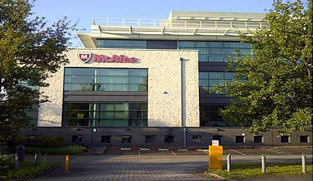 McAfee - Slough HQ and Aylesbury Technology Centre